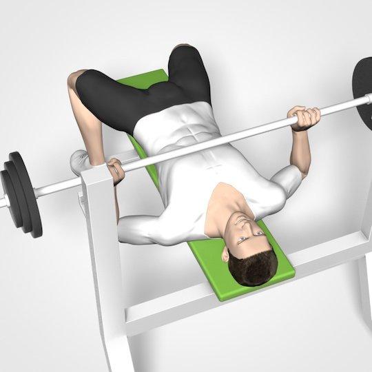 Training für die Brust