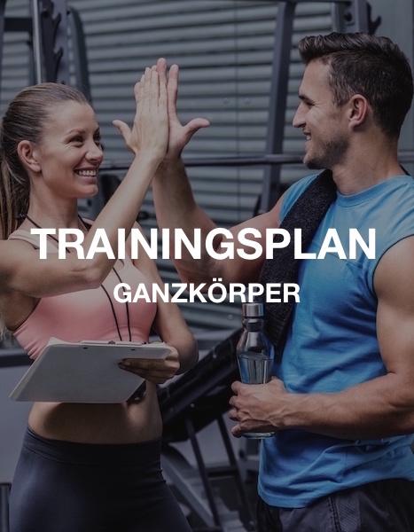Ganzkörper Muskelaufbau Trainingsplan