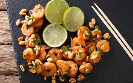 Erdnuss Shrimps