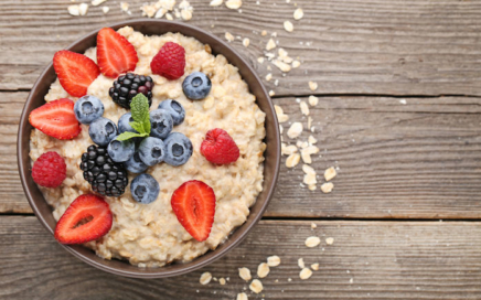 Frühstück Rezepte - Protein Oatmeal