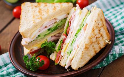 Schinken-Käse Sandwich