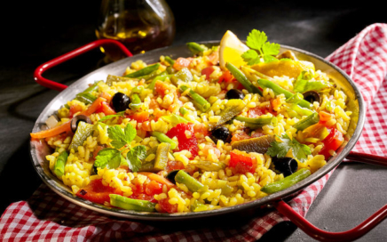 Vegane Rezepte - Vegane Paella