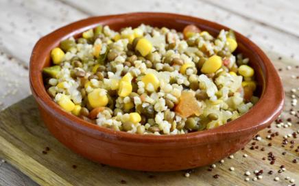Vegane Rezepte - Bulgur Salat