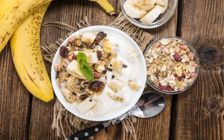 Frühstück Rezepte - Müsli Joghurt