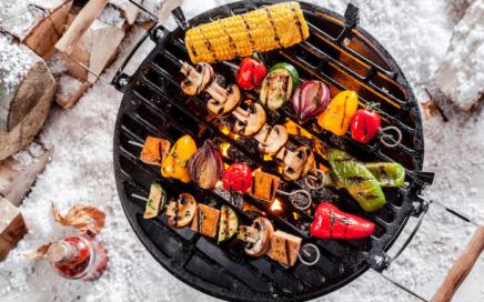 Rezept zum Abnehmen: Veggie Kebab