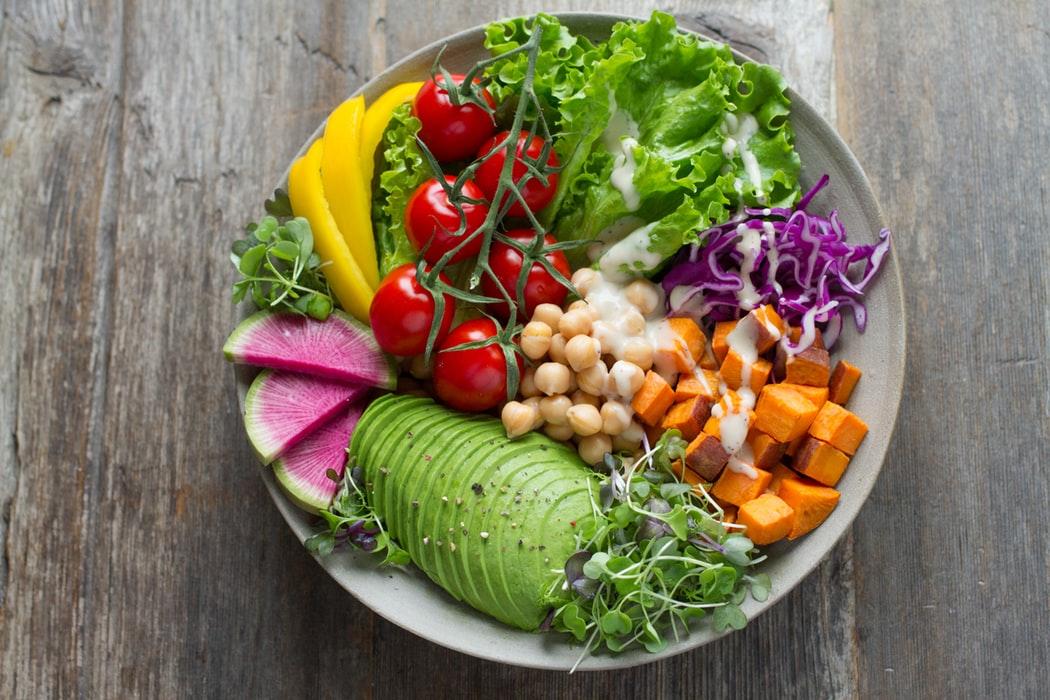 Gesund und frisch essen
