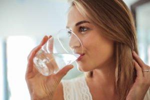 Clean Eating - Ausreichend Wasser trinken