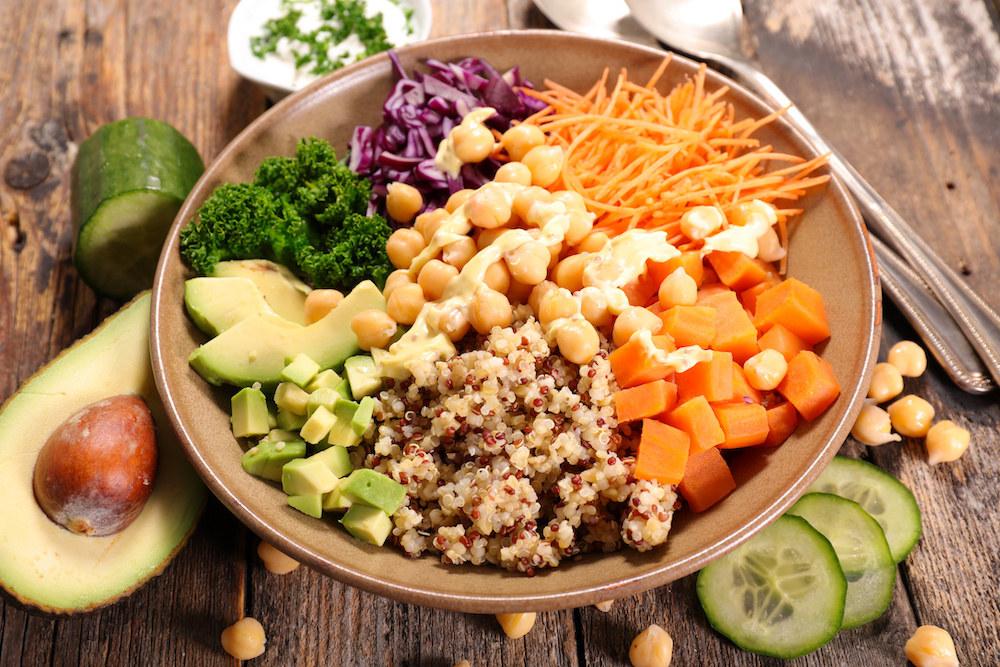 Vegetarische Lebensmittel - Vegetarische Ernährung ist lecker und abwechslungsreich - Vegetarische Ernährungspläne mit vegetarischen, fleischlosen Rezepten erstellen auf Natty Gains