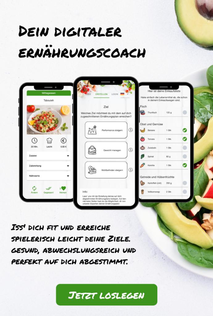Dein digitaler Ernährungscoach