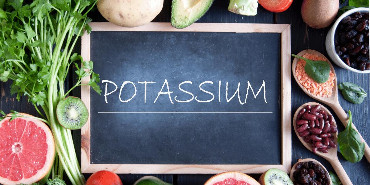 Mineralstoff Kalium - wichtig für Energie, Herz, Kreislauf und Muskeln - Mikronährstoff für gesunde Ernährung