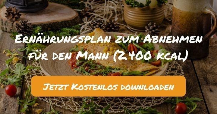 Ernährungsplan zum Abnehmen für den Mann (2.400 kcal) - Kostenlos als PDF zum Downloaden bei Natty Gains - Gesund ernähren leicht gemacht (1)