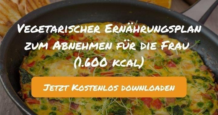 Ernährungsplan zum Abnehmen für die Frau (1.600 kcal) - Kostenlos als PDF zum Downloaden bei Natty Gains - Gesund ernähren leicht gemacht