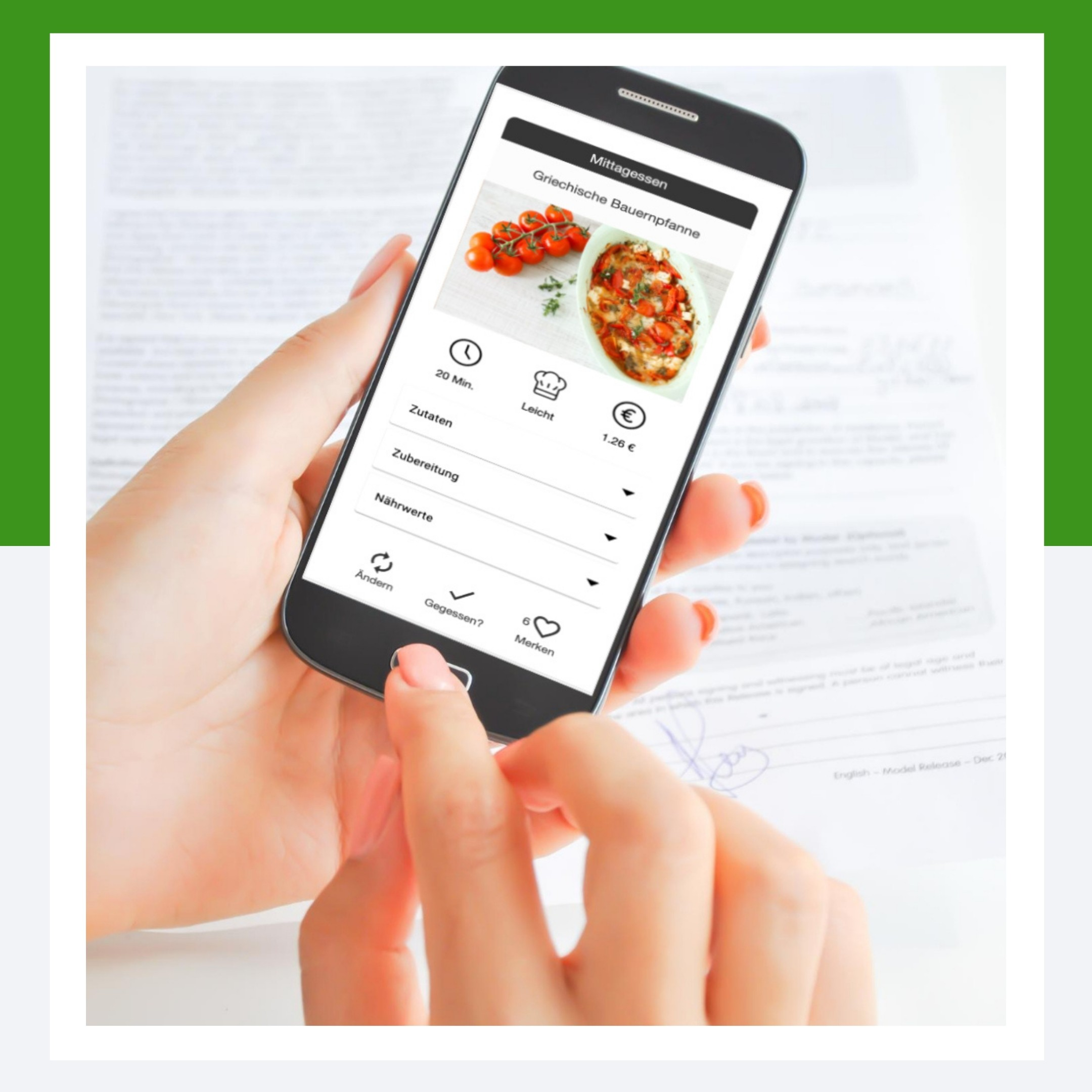 Ernährungs-App Demo-Zugang zur Erstellung von Ernährungsplänen - Software-Tool für Ernährungsberatung für Personal Trainer, Fitnesstudios, Ernährungsberater
