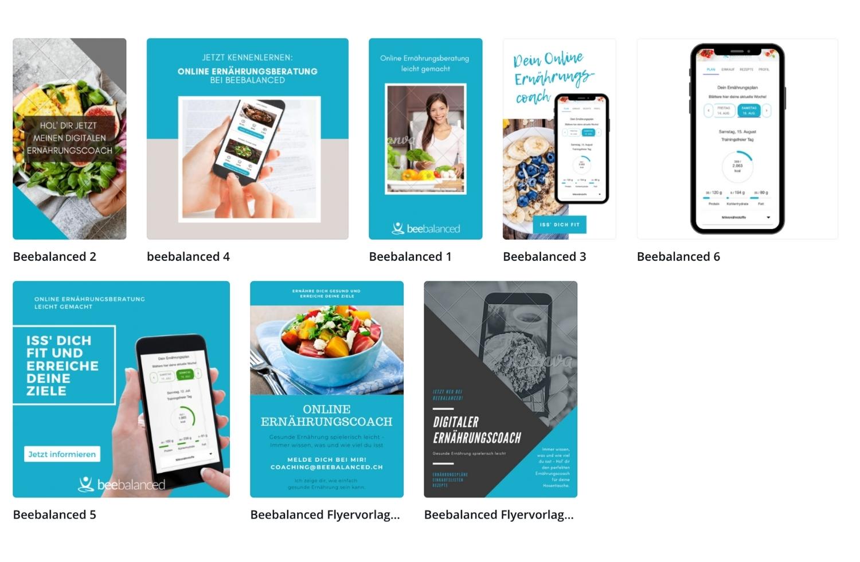 Ernährungs-App + Software von Natty Gains - Online Marketing Kit für bessere Vermarktung und Kundenbindung