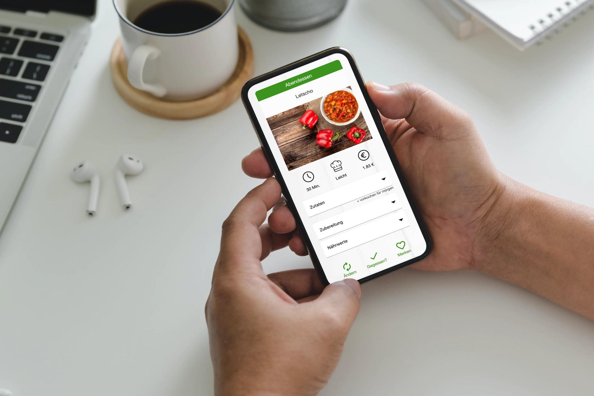 Ernährungs-App für Kunden von Personal Trainern, Ernährungsberatern, Fitnessstudios - Ernährungs-Software von Natty Gains