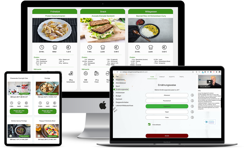 Fitnessstudio Ernährungs-Software für Mitglieder - Ernährungscoaching per Ernährungs-App leicht gemacht