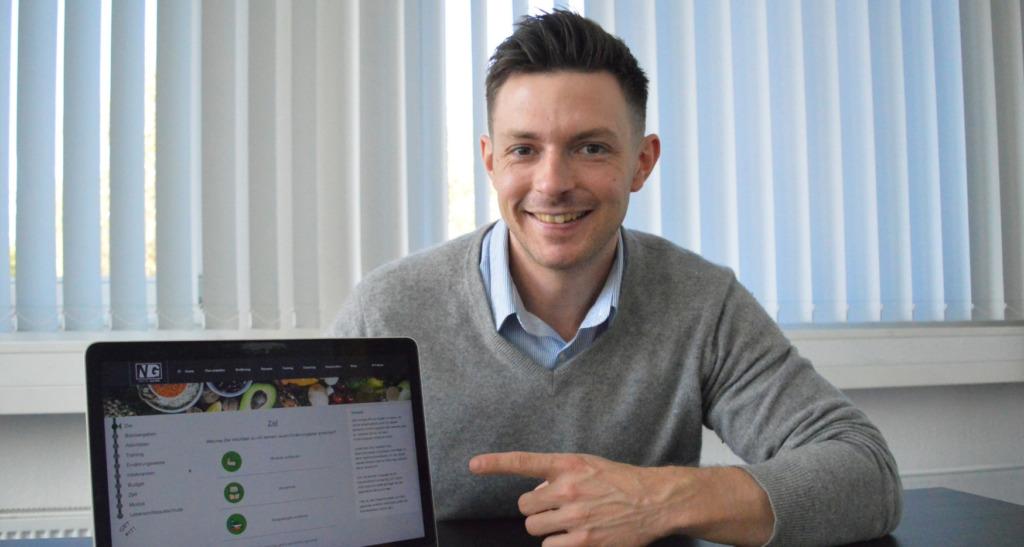 Ernährungsberater-Software - Ernährungscoaching per Ernährungs-App - Natty Gains - Gründergeschichte