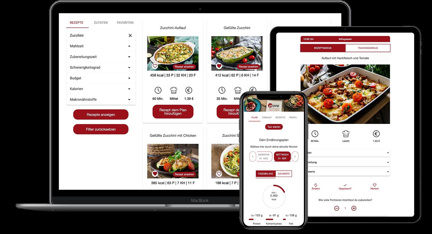 Erfahrungen zur Natty Gains Ernährungssoftware + Ernährungs-App von Personal Trainern, Ernährungsberatern, Gesundheitscoaches - Mockups von Pamela Chance aus Bremen
