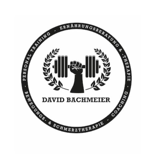 Logo von Online Personal Trainer und Ernährungscoach David Bachmeier - Lizenznehmer der Natty Gains Ernährungssoftware