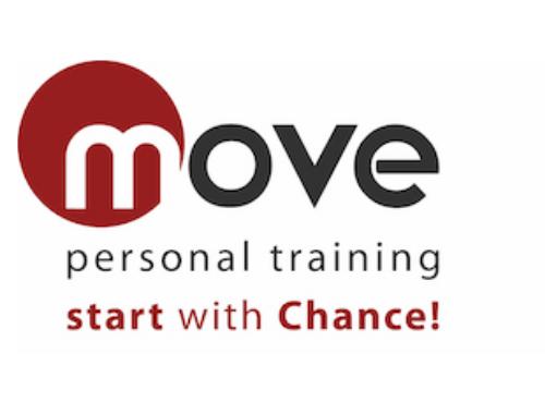 Logo von Personal Trainerin Pamela Chance (Move Personal Training) - Lizenznehmer der Natty Gains Ernährungssoftware
